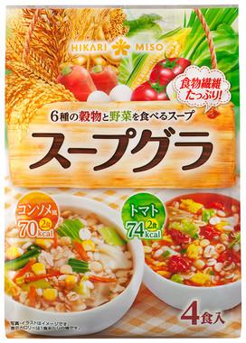 アソートタイプの4食入り「スープグラ」