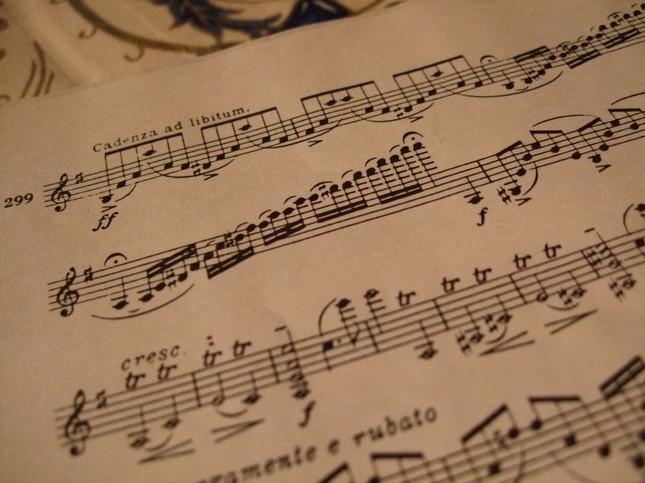 ヴァイオリン協奏曲第1楽章のカデンツァ部分