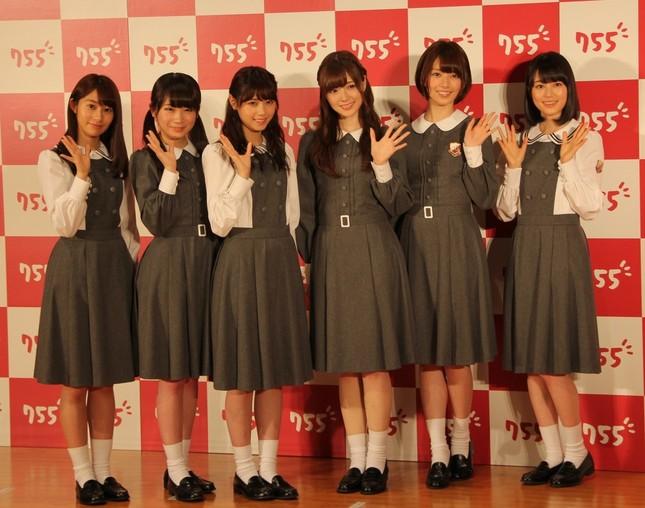 撮影会に出席した乃木坂46のメンバー