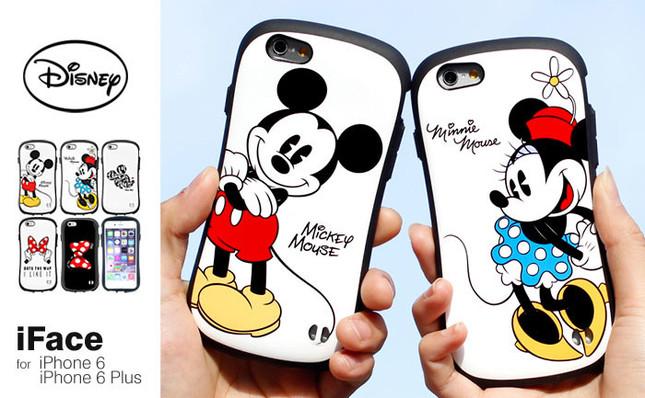 iPhone 6/6 Plus専用 ディズニーキャラクター iface First Classケース (C)Disney