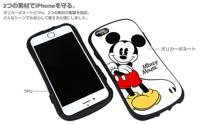 TPUとポリカーボネートの2つの素材が衝撃を吸収 (C)Disney