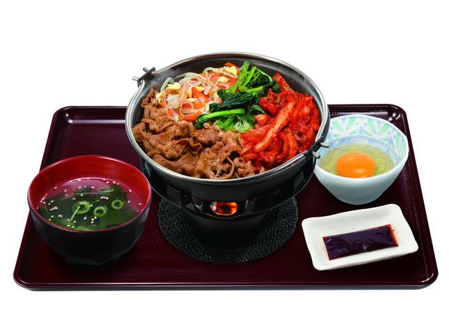 鍋焼ビビンバ定食