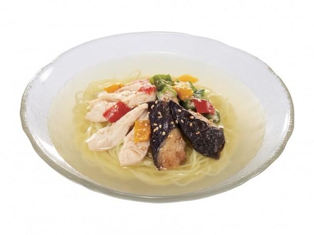 鶏野菜涼風麺