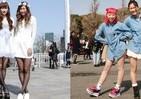 サクラのあとはギャル咲く季節 春ファッションのトレンドをチェック