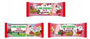 LINEキャラクターが初めてアイスに 森永乳業「LINE FRIENDS」