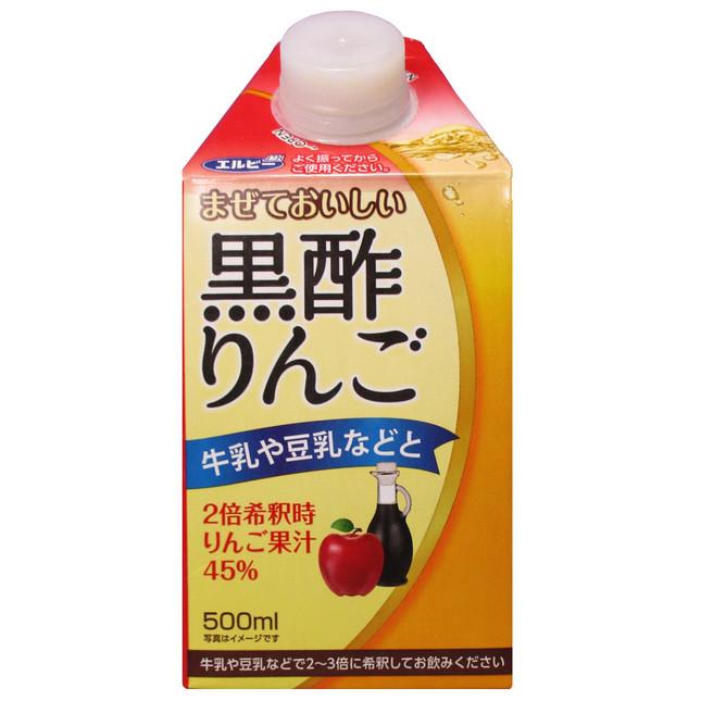 まぜておいしい黒酢りんご