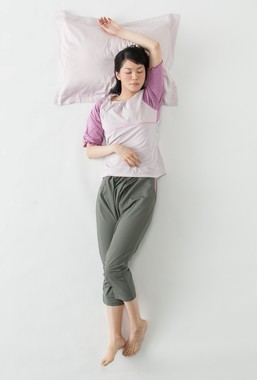 アイスタッチスーパークール5分丈シャツ/サルエル風パンツ