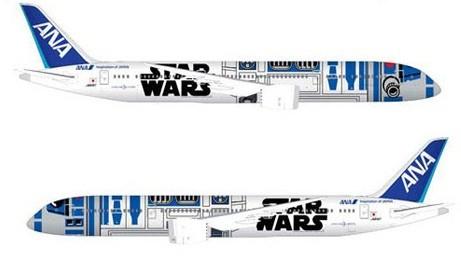 R2-D2がジェット機のデザインに!