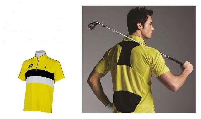 暑い夏でも快適にゴルフが楽しめるウエア登場!