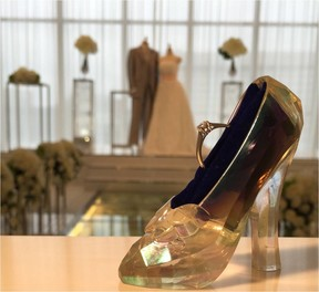 「シンデレラ」がテーマの結婚式叶える 映画公開記念ブライダルフェア開催