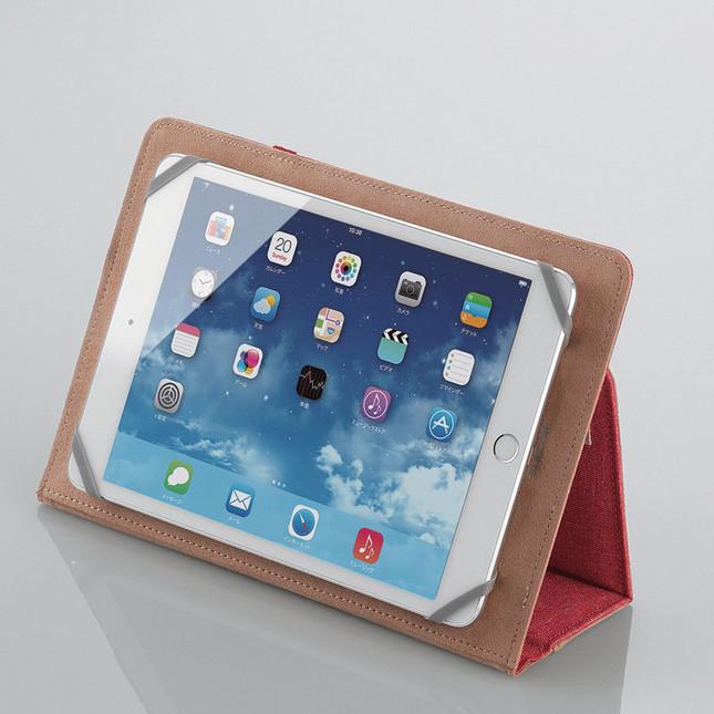 iPadのほか、様々なサイズのタブレットに対応