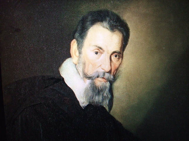 史上最初のクラシック作曲家というべきモンテヴェルディの肖像画