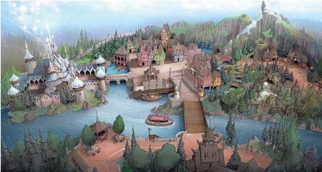 TDSの「北欧」をテーマにした新ポートのイメージ (C)Disney
