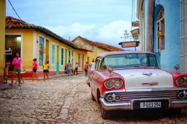 旧市街地にはスペイン統治時代の空気が残る