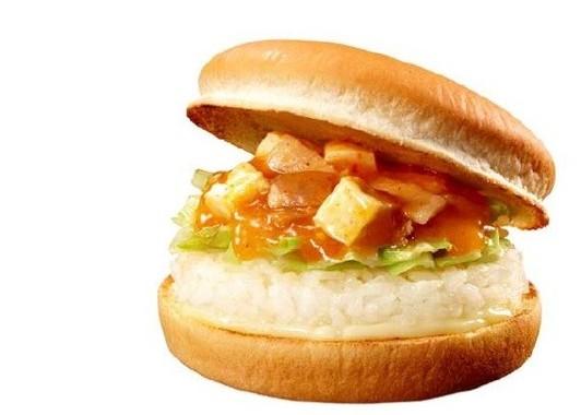 「蒙古丼バーガー」