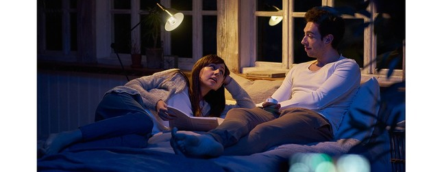 寝室も光と音を融合させた新体験空間に