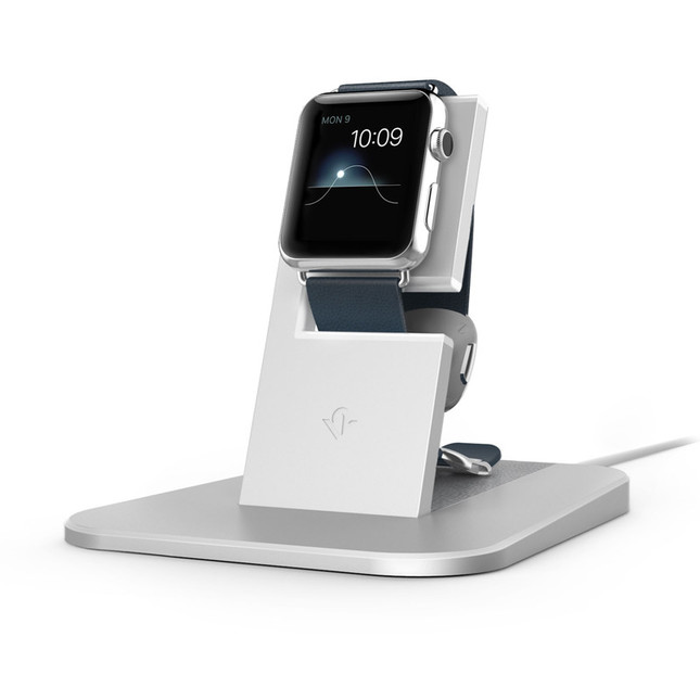 充電しながら時間や通知を確認できるよう見やすい位置に固定