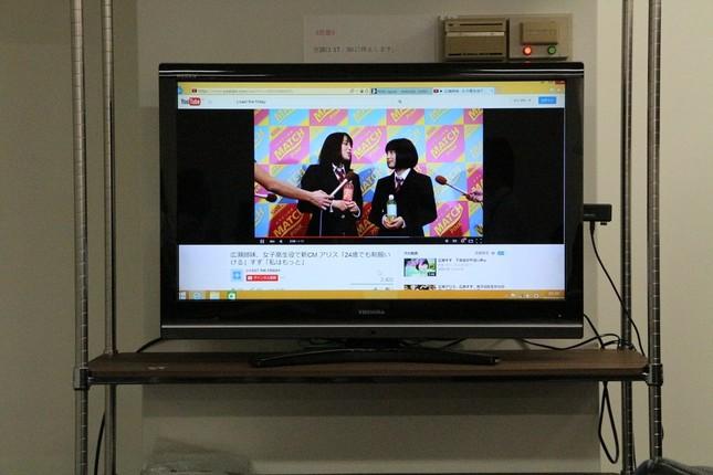 HD画質の動画もスムーズに再生