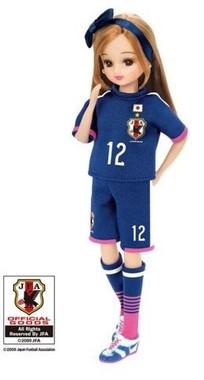 リカちゃんなでしこジャパンモデル2015