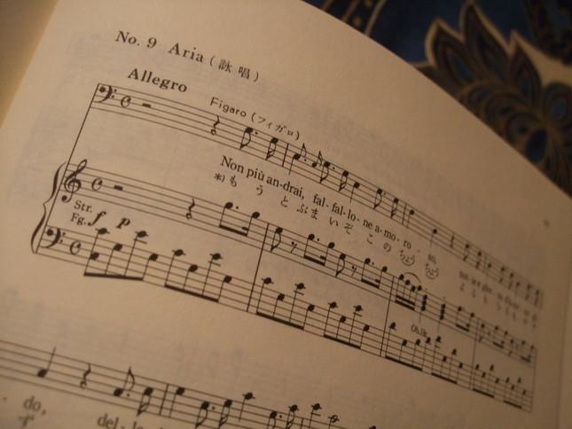 「フィガロの結婚」の中の傑作アリアの数々