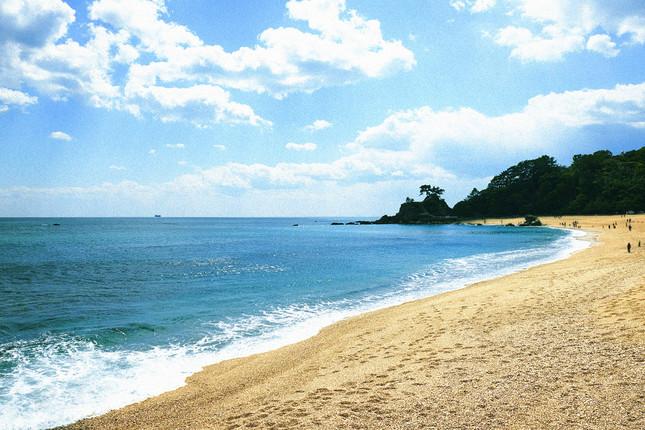高知屈指の観光名所「桂浜」