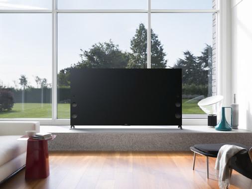 ソニーの新しい4Kブラビアは、日本初の「アンドロイド」搭載テレビ(画像はすべてソニー公式サイトより)