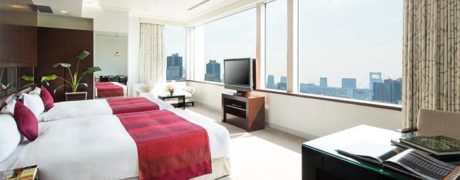 客室タイプはシングルルームとデラックス・コーナーツインルーム