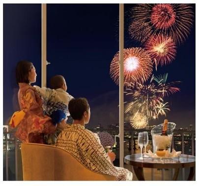 華火祭を優雅に鑑賞できる夏定番の人気プラン