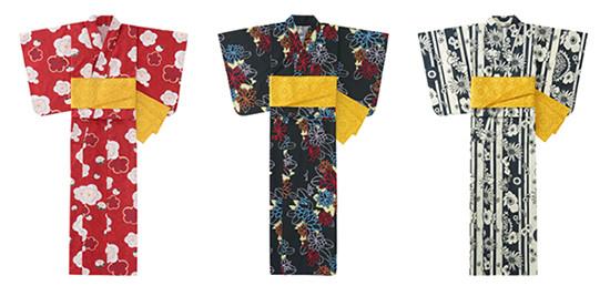 中原淳一の作品からインスパイアされデザインした浴衣