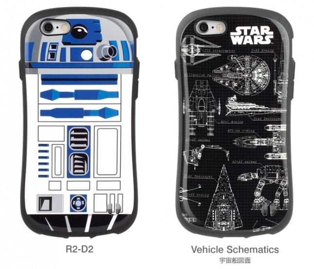 「R2-D2」(左)と「ビークル・スキーマティクス(宇宙船図面)」