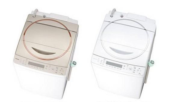 黄ばみを予防する新コースを採用した東芝の新型洗濯乾燥機