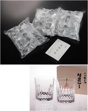 600円コース「日光 天然の氷 四代目徳次郎 かち割り氷セット」