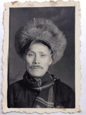 3番目の養父・趙樹森(1960年ごろ)