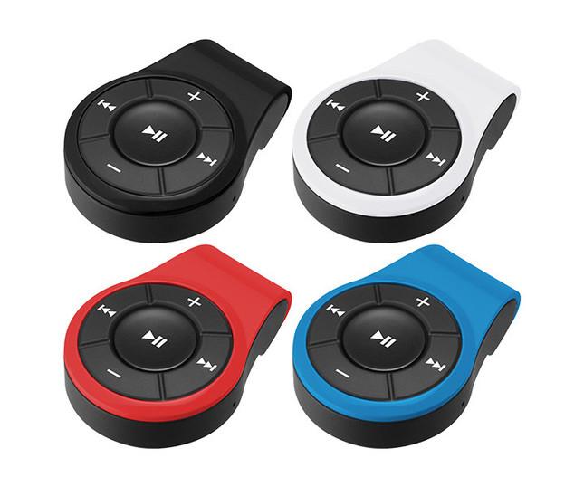 操作ボタン搭載、手元で音量調整や曲送りできる