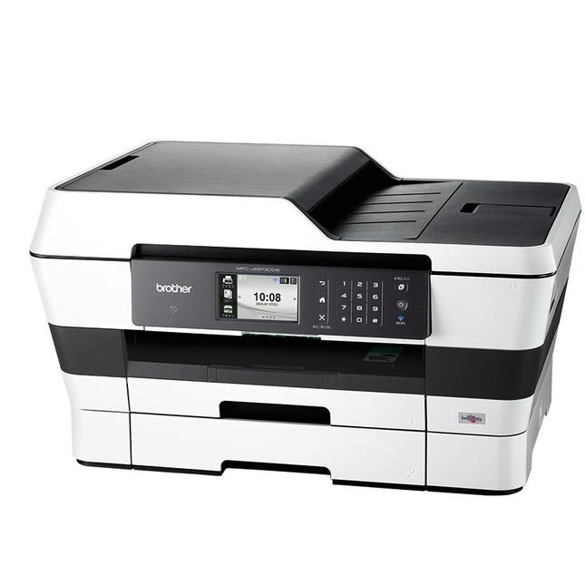 上位モデルは最大500枚セット可能な大容量給紙トレイ搭載