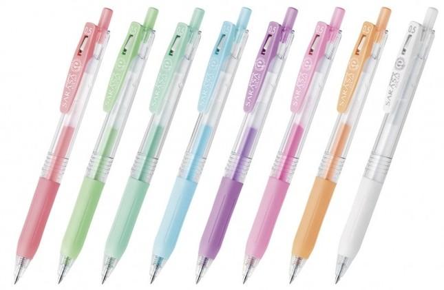8色のバリエーションをこだわりに合わせて使い分け