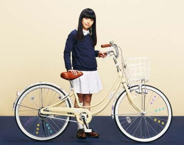 大人テイスト×ちょっと可愛い新しいタイプの自転車
