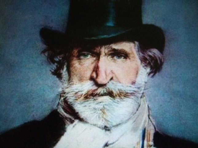有名なヴェルディの肖像画