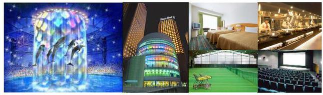 様々な施設が併設されるホテルらしいプラン