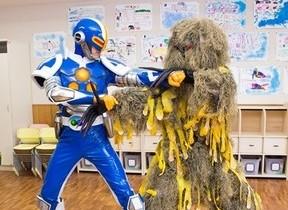 幼稚園の平和を「ジョキンジャー」が守る! 除菌習慣の大切さ伝えるウェブムービー