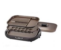 土鍋素材の遠赤効果で、おいしく料理(写真は、「CRC‐B300型」)