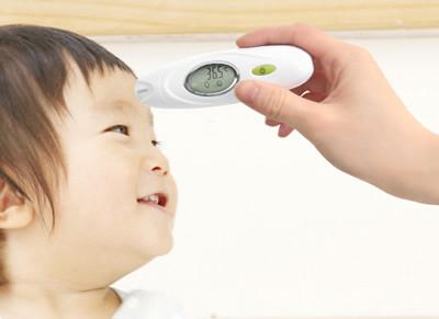 約2秒で測定 赤ちゃんの検温も簡単