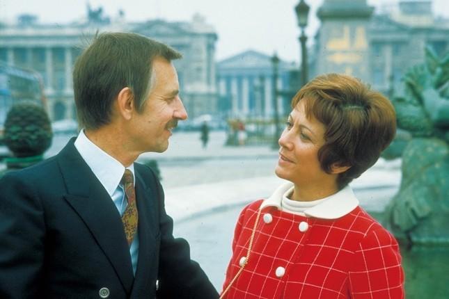 ポール・モーリアとイレーヌ夫人 (C)Jacques Aubert