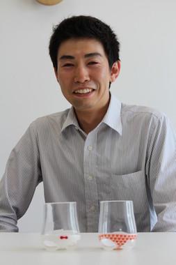 石井さんは仕事を掛け持ちしているが、ガラス作家専業を目指す