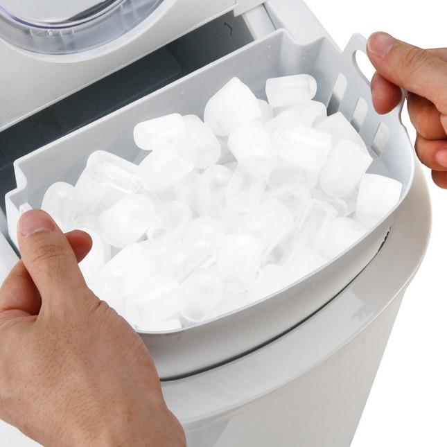 作る氷のサイズを2種類から選ぶことができる