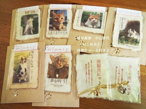猫をモチーフにした雑貨、写真、イラスト、絵画、陶器、食器など様々なジャンルの作品が一堂に