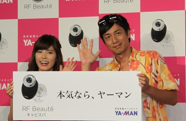 フリーアナの神田さんとチュートリアル徳井さん