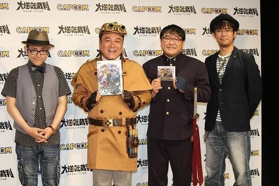 ディレクターの巧舟さん(左端)と、プロデューサーの小嶋慎太郎さん(右端)もイベントに出演