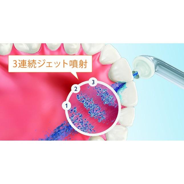 歯間ブラシや糸フロスより歯ぐきに優しく簡単洗浄