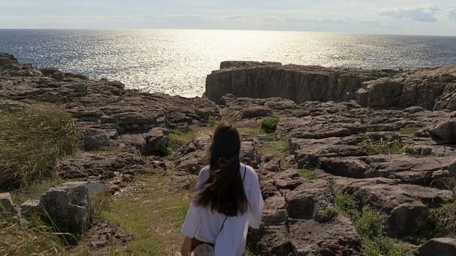 キラキラと光る広大な海だった